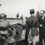 Arrivée des troupes Françaises à Roanne