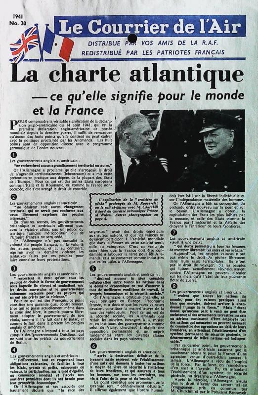 1941 le courrier de l air